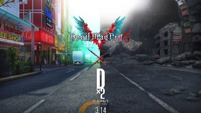 Devil May Cry 5 Shin Megami Tensei Liberation Dx2 event