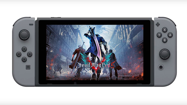 Devil May Cry Switch Release Date