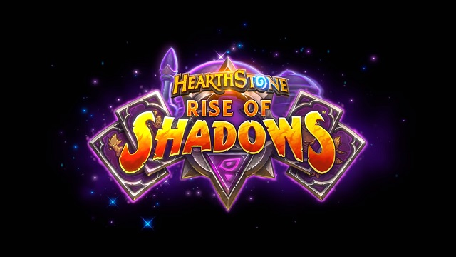 Hearthstone Rise of Shadows expansion