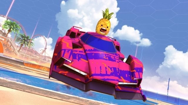 Online Games Peaked with Rocket League