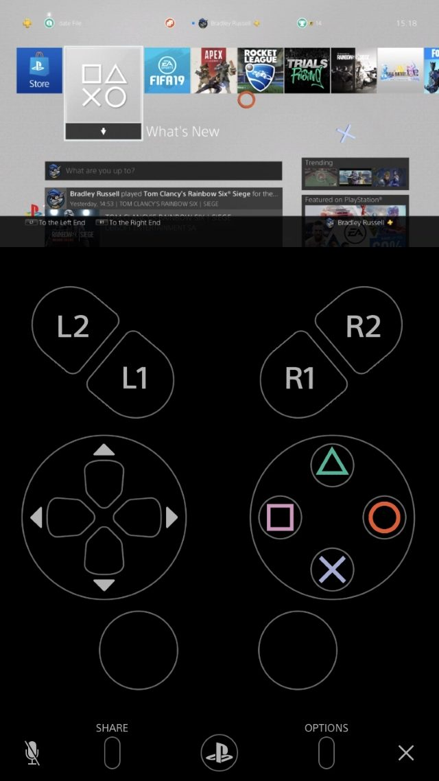 PS4 iOS Remote Play