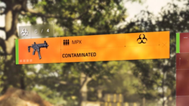The Division 2 Contaminated Items