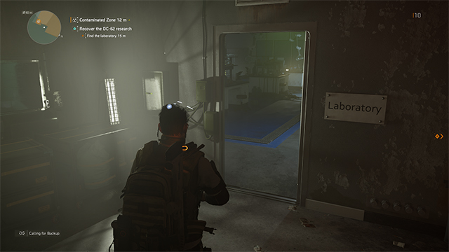 The Division 2 Laboratory Door Open Recover The Dc 62 Research Mission Door Gamerevolution