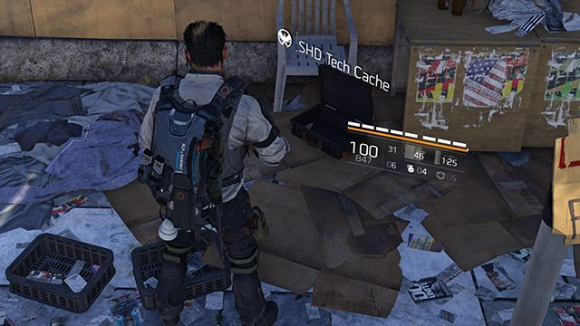 The Division 2 SHD Tech Points