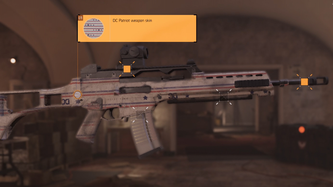The Division 2 Weapon Skin Equipped