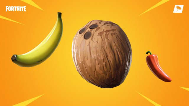 fortnite bananas, coconuts, and peppers