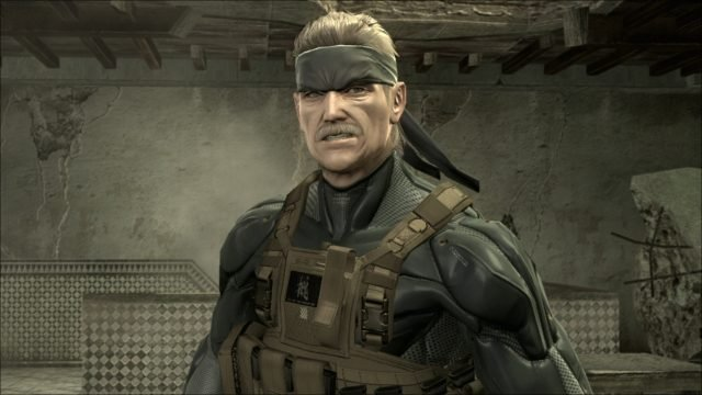 metal gear solid 4 on ps4