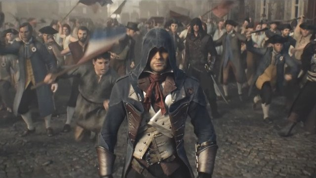Assassin's Creed Unity positive review bomb