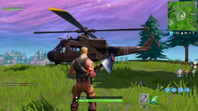 Fortnite Helicopter Locations