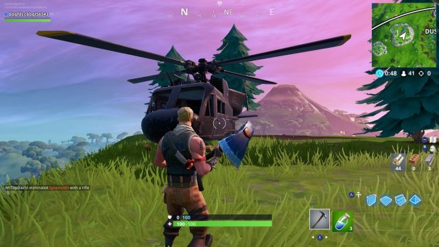 Fortnite Helicopter Location