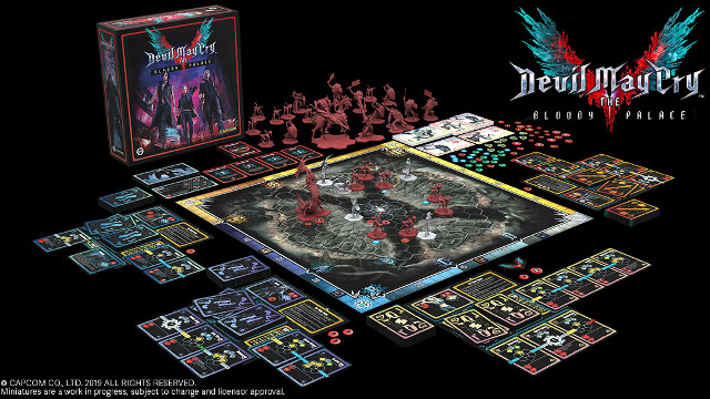 Devil May Cry Board Game