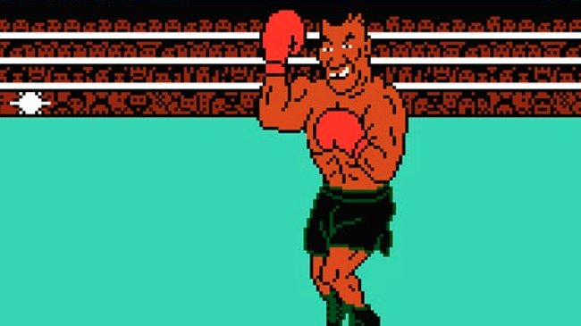 Mike Tyson in Punchout