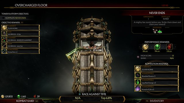 Mortal Kombat 11 1.03 Update Patch Notes | New Towers of Time upgrades, better payouts, and more