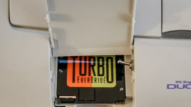 Turbo Everdrive Review Card Slot