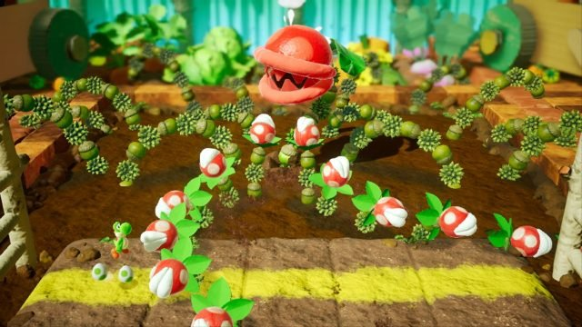 Yoshi's Crafted World Review Boss