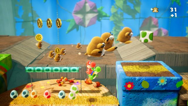 Yoshi's Crafted World Review Moles