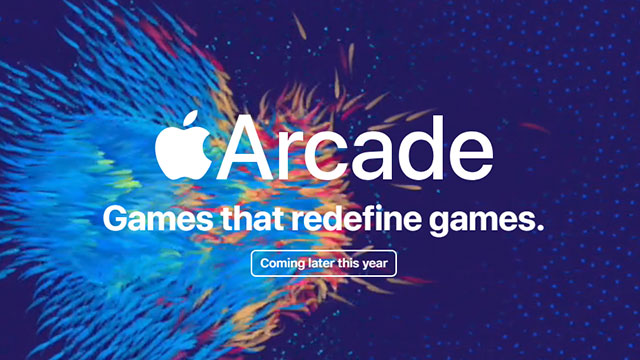Apple Arcade website screencap