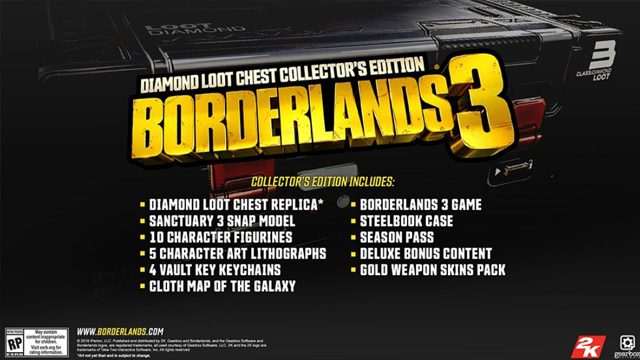 borderlands 3 collector's edition