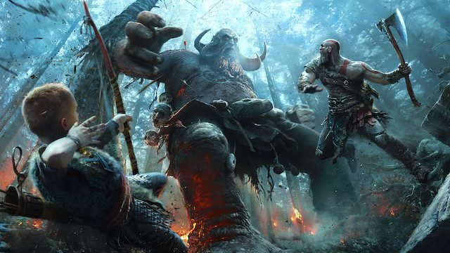 Mondo God of War, PlayStation