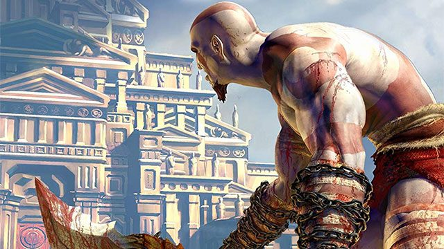 God of War for PS2,directed by Jaffe, Bluepoint Games