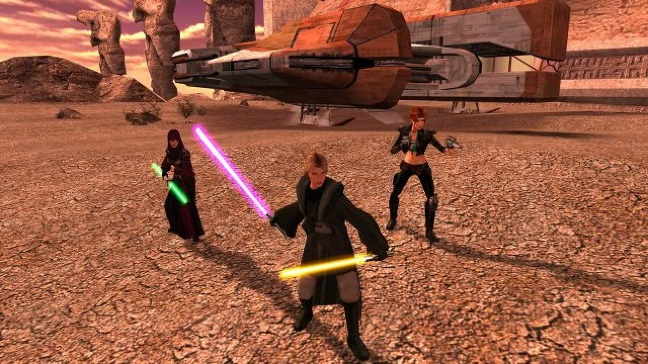 Knights of the Old Republic 3 was planned out, but canceled before