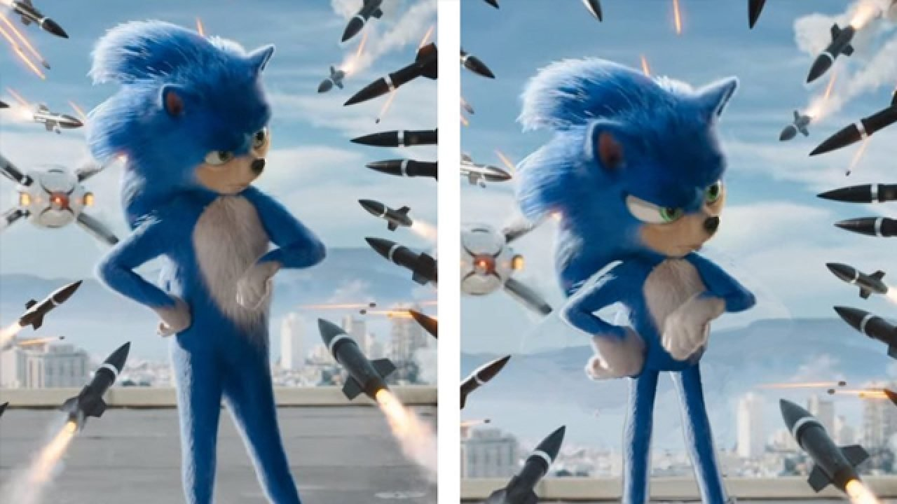 Here S How The Sonic The Hedgehog Movie Would Have Looked With A