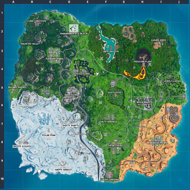 All Fortnite Season 9 Map Changes | Latest updated map