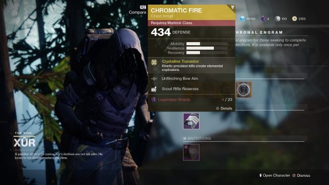 xur inventory today
