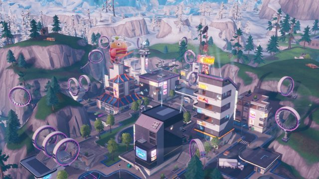 Fortnite Fortbyte 41 location where to find