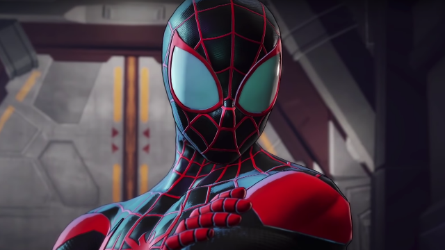 Marvel Ultimate Alliance 3 spider-man
