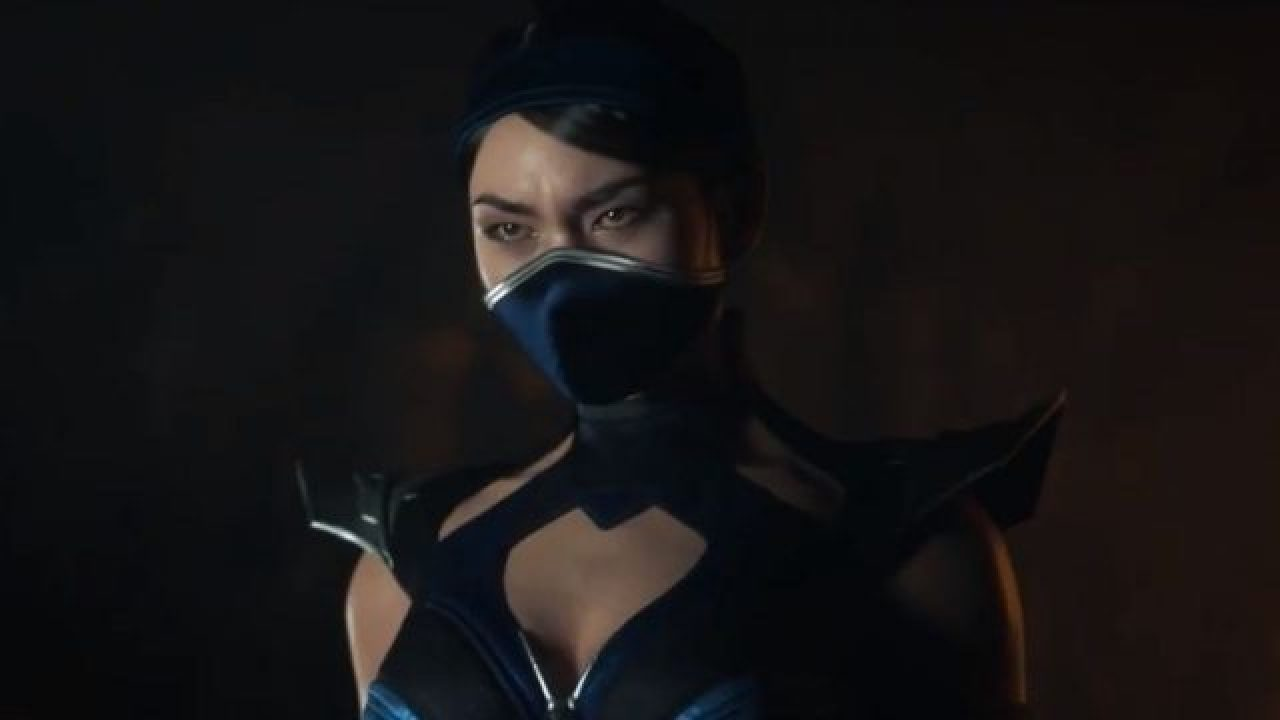 kitana mortal kombat red mask