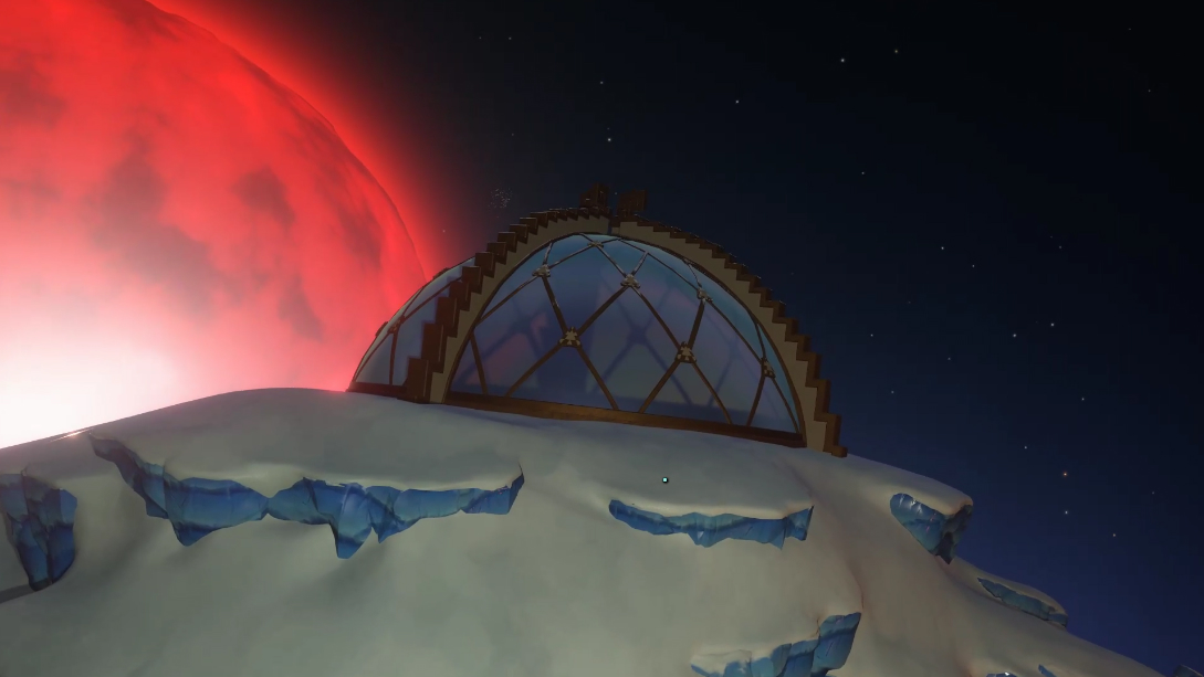 Outer wilds Southern Observatory Brittle Hollow