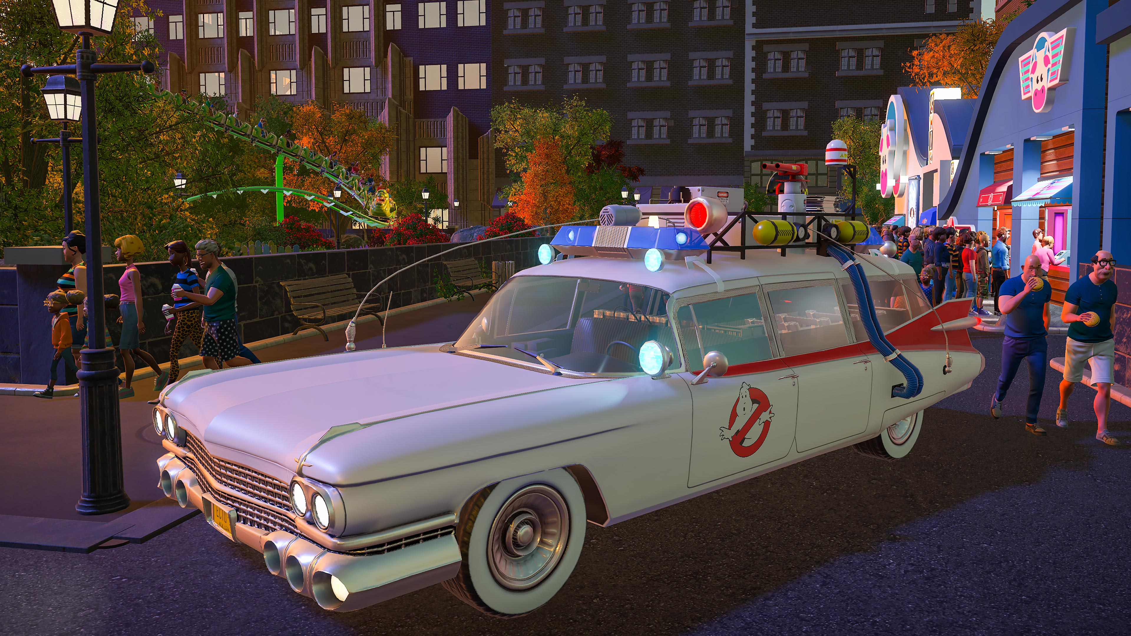 Planet Coaster Ghostbusters