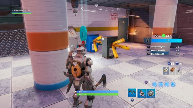 Fortnite ONFIRE Letter Locations