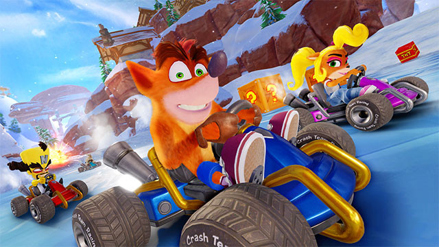 Crash Team Racing Nitro-Fueled Adventure Mode detailed in PS Blog post