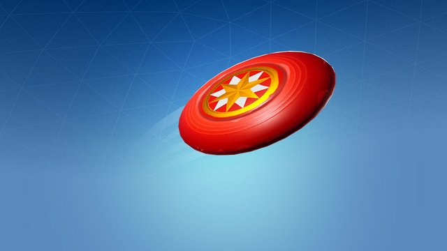 Fortnite Throw the Flying Disc toy and catch it before it lands