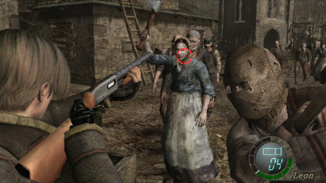 resident evil 4 switch wii version
