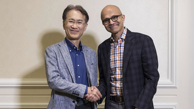 Sony and Microsoft announce joint partnership