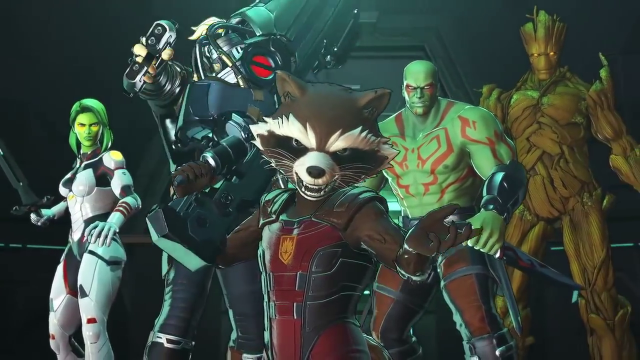 Marvel Ultimate Alliance 3 Roster guardians