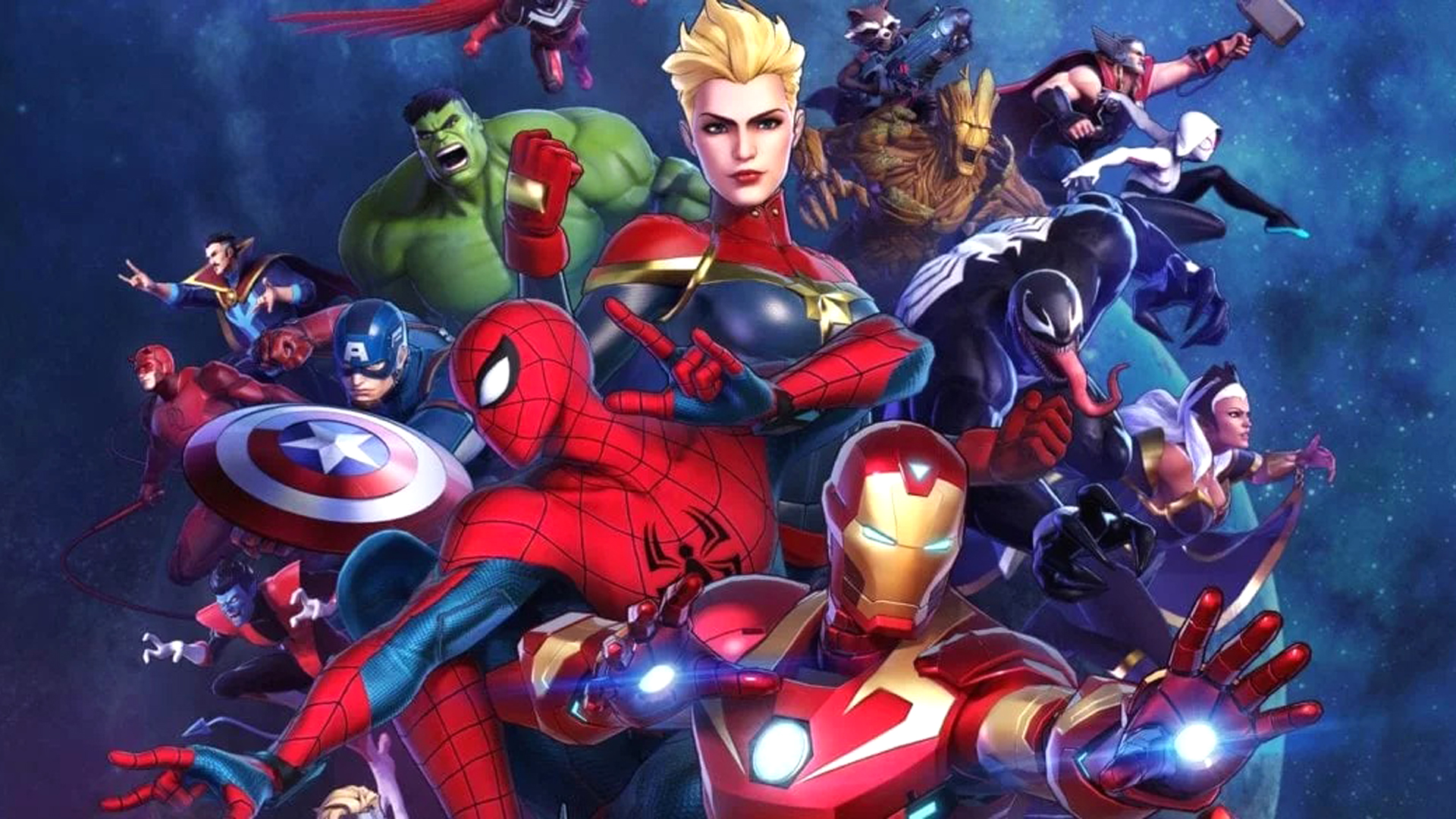 Marvel Ultimate Alliance 3 Roster