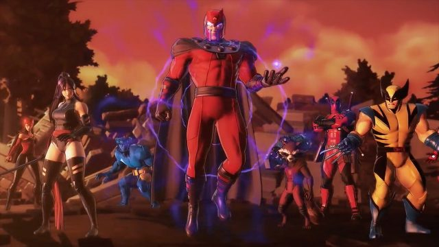 Marvel Ultimate Alliance 3 Roster X-Men