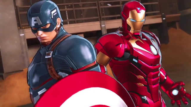 Marvel Ultimate Alliance 3 Roster avengers