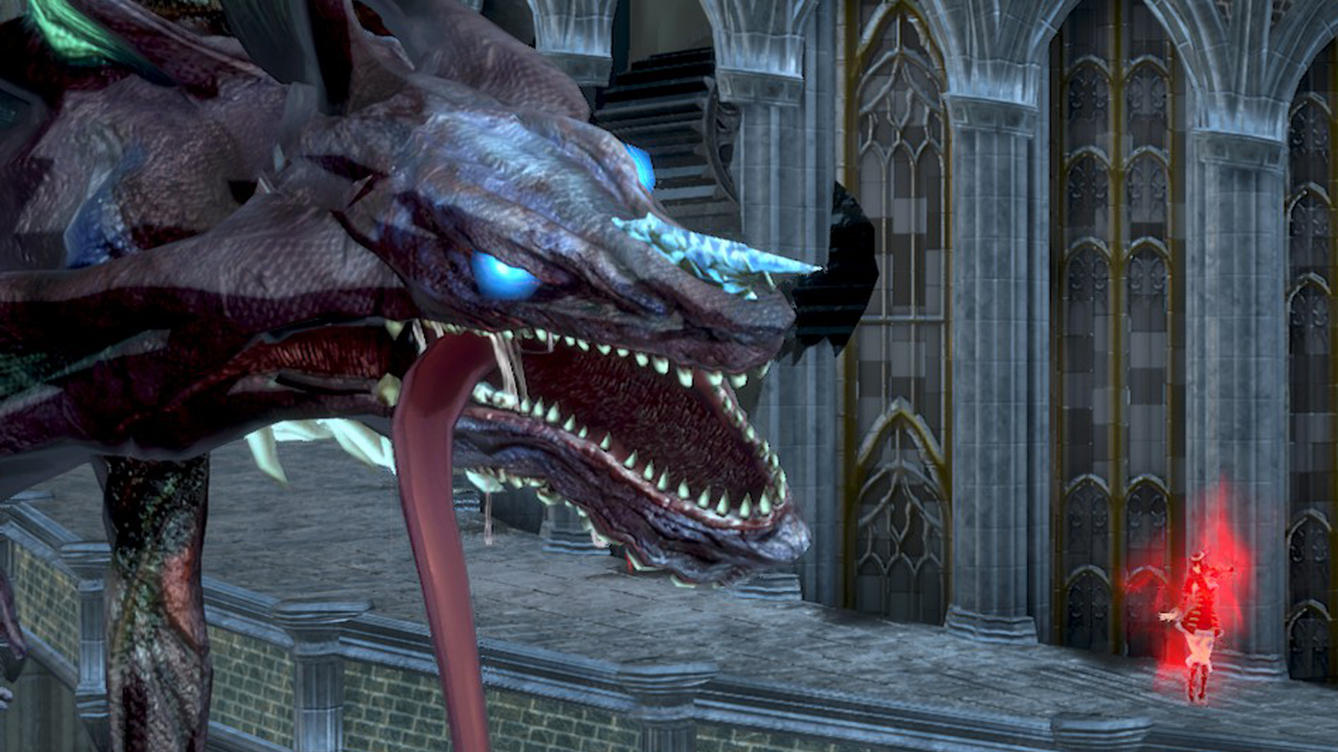 Bloodstained Ritual of the Night Twin Dragons