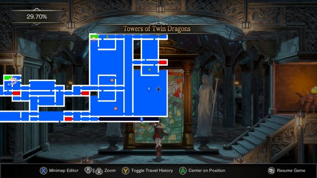 Bloodstained Ritual of the Night Twin Dragons location