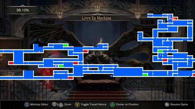 Bloodstained Ritual of the Night Giant Hand Location