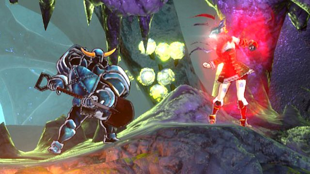 Bloodstained Ritual of the Night Shovel Knight shard