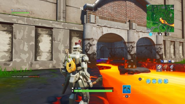 Fortnite Fortbyte 12 Location tunnel