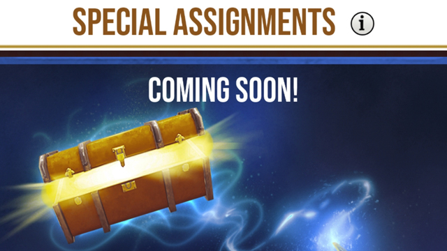 Harry Potter Wizards Unite Special Assignments