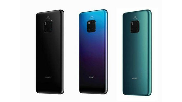 Huawei Mate 20 Pro Review Colors