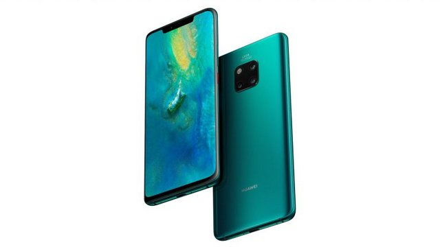 Huawei Mate 20 Pro Review Front and Back